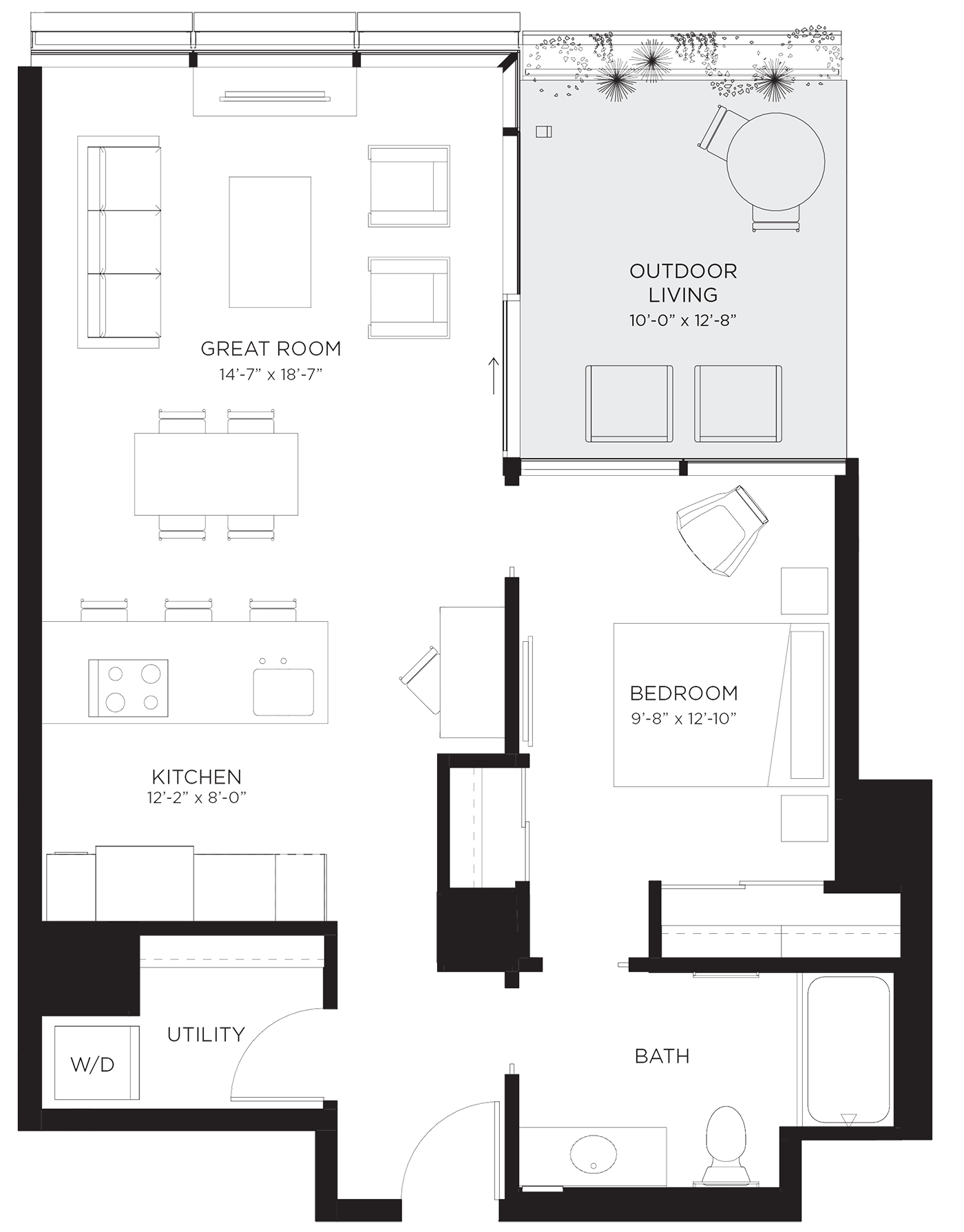 Unit 01Ab Floor Plan