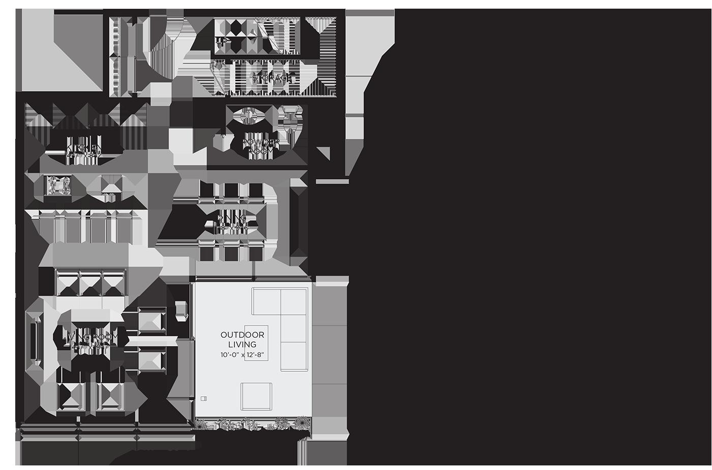 Unit 02RE Floor Plan
