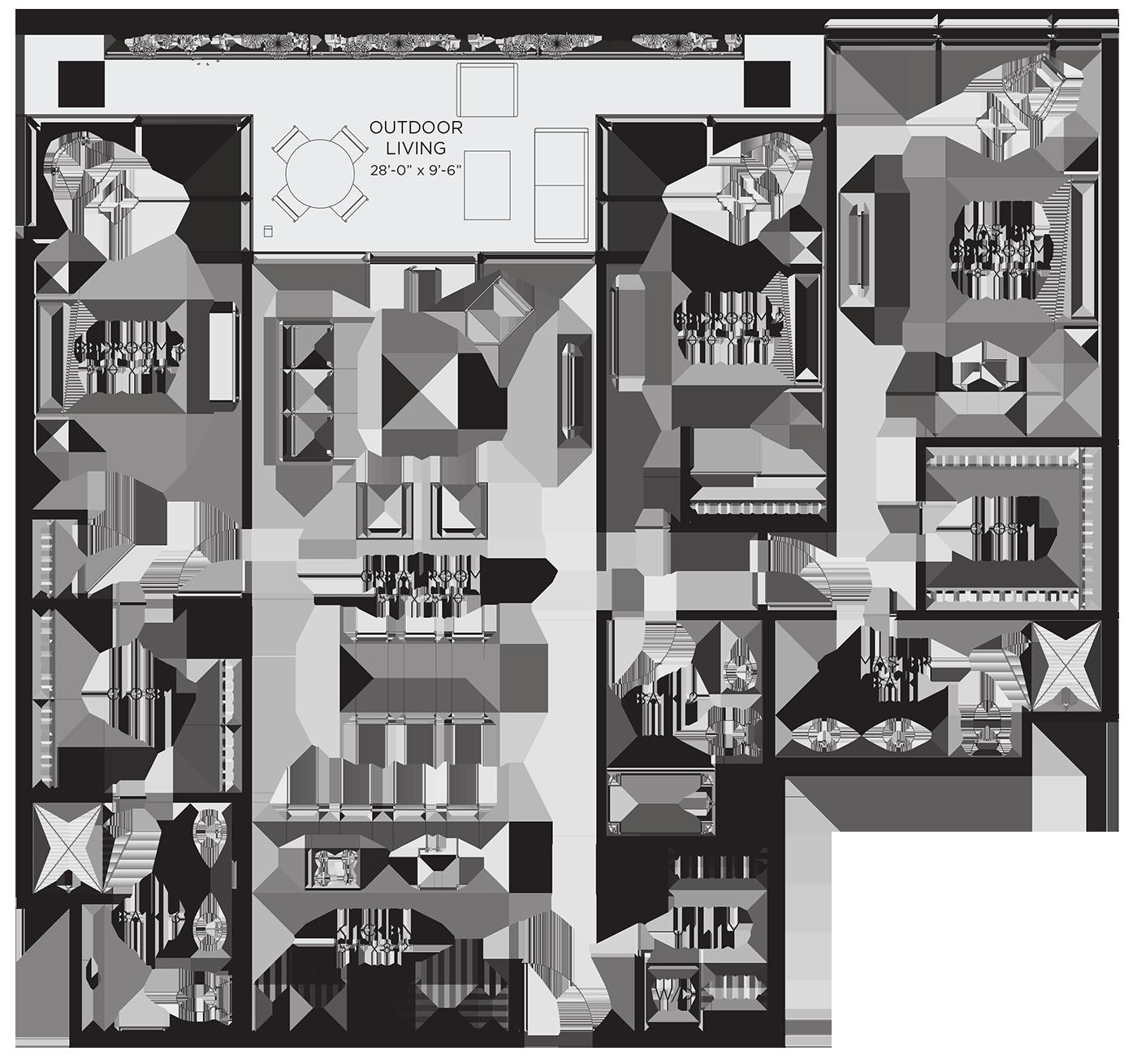 Unit 03Ha Floor Plan