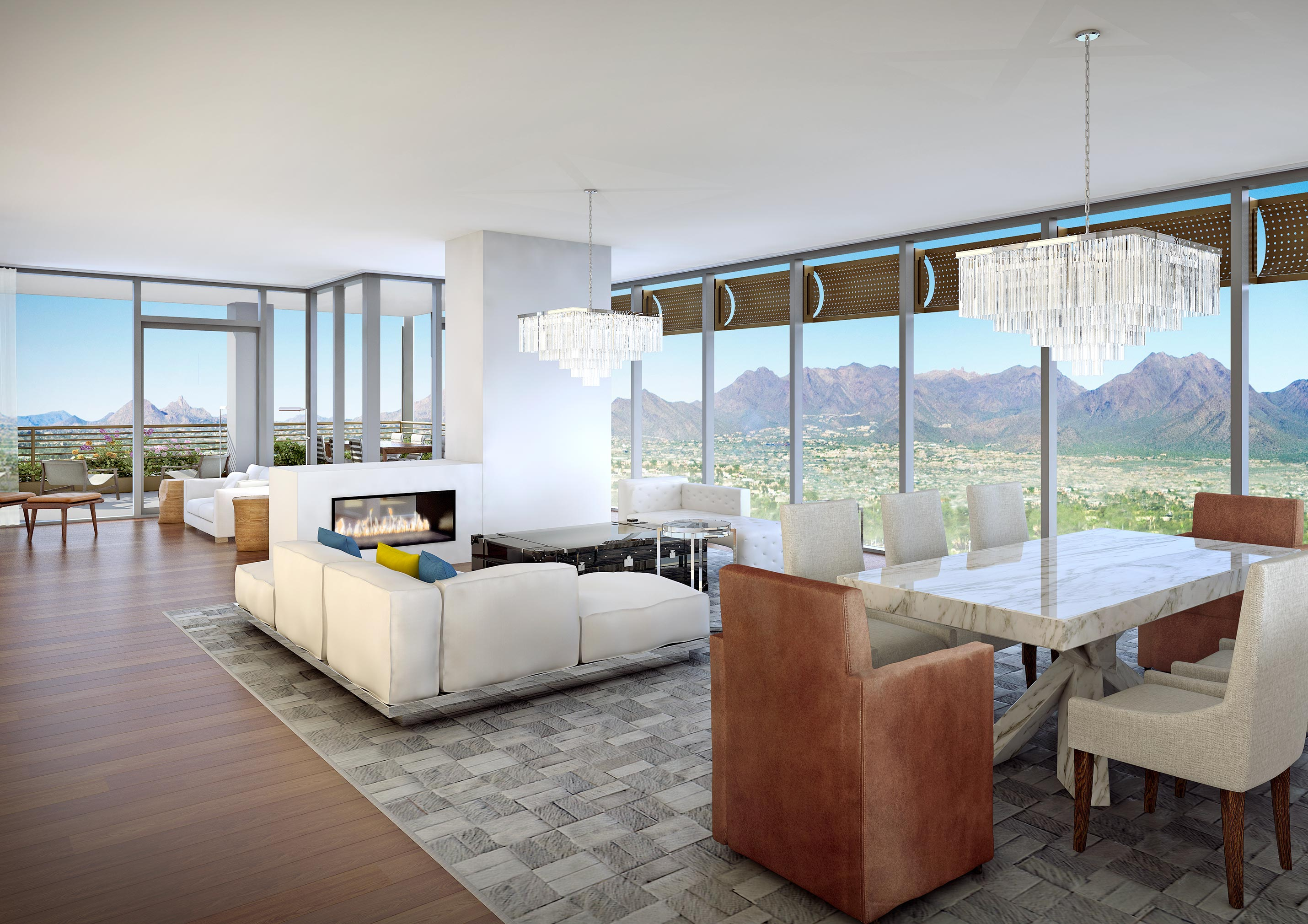 Green Luxury: Optima Kierland to showcase floor-to-ceiling glass, flexible floor plans