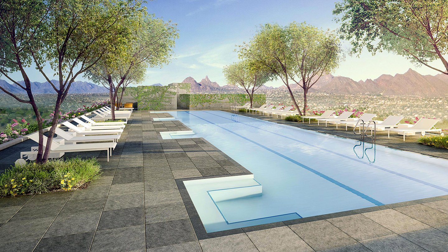 Sky Deck Lap Pool
