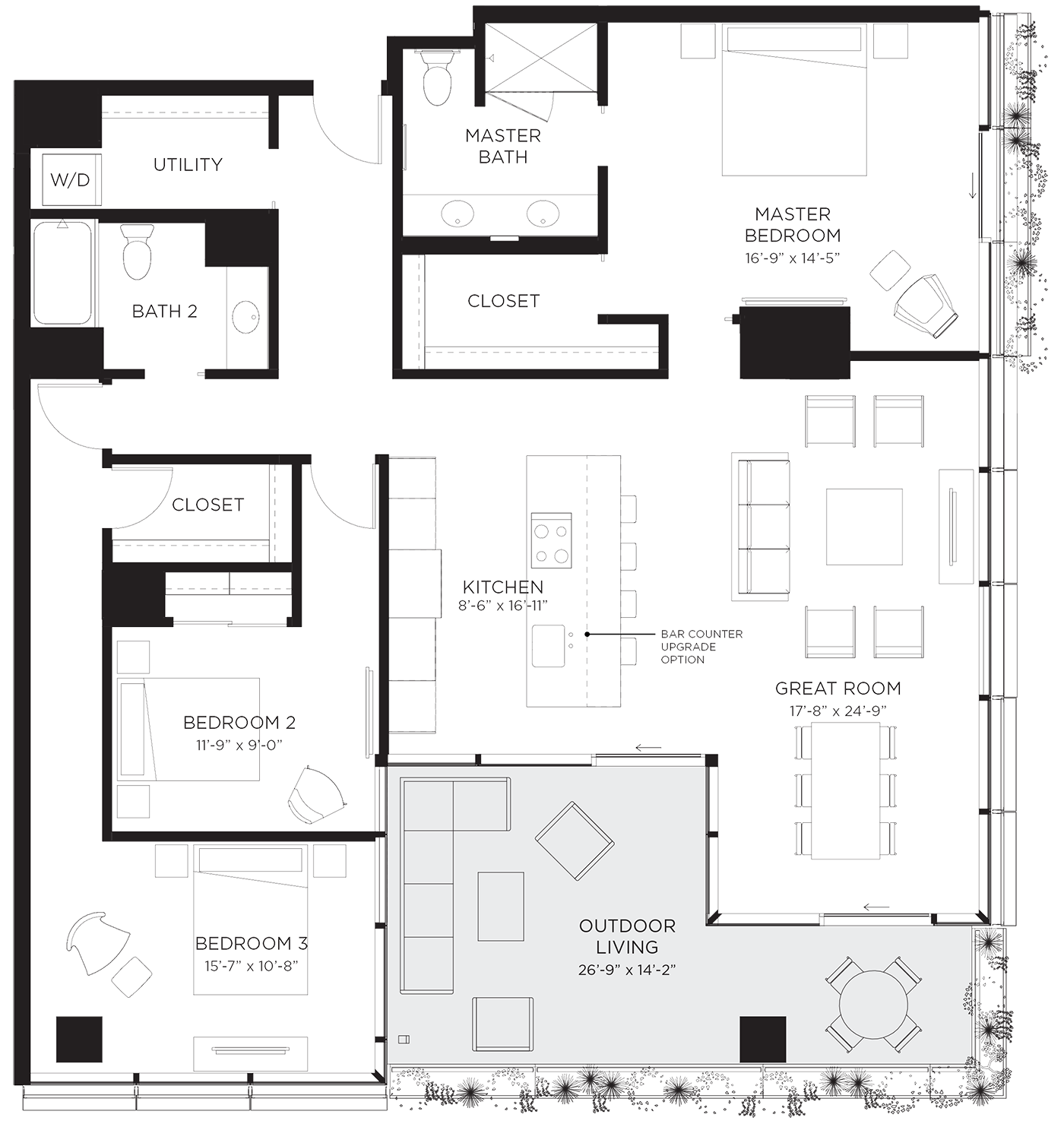 Unit 03Ca Floor Plan