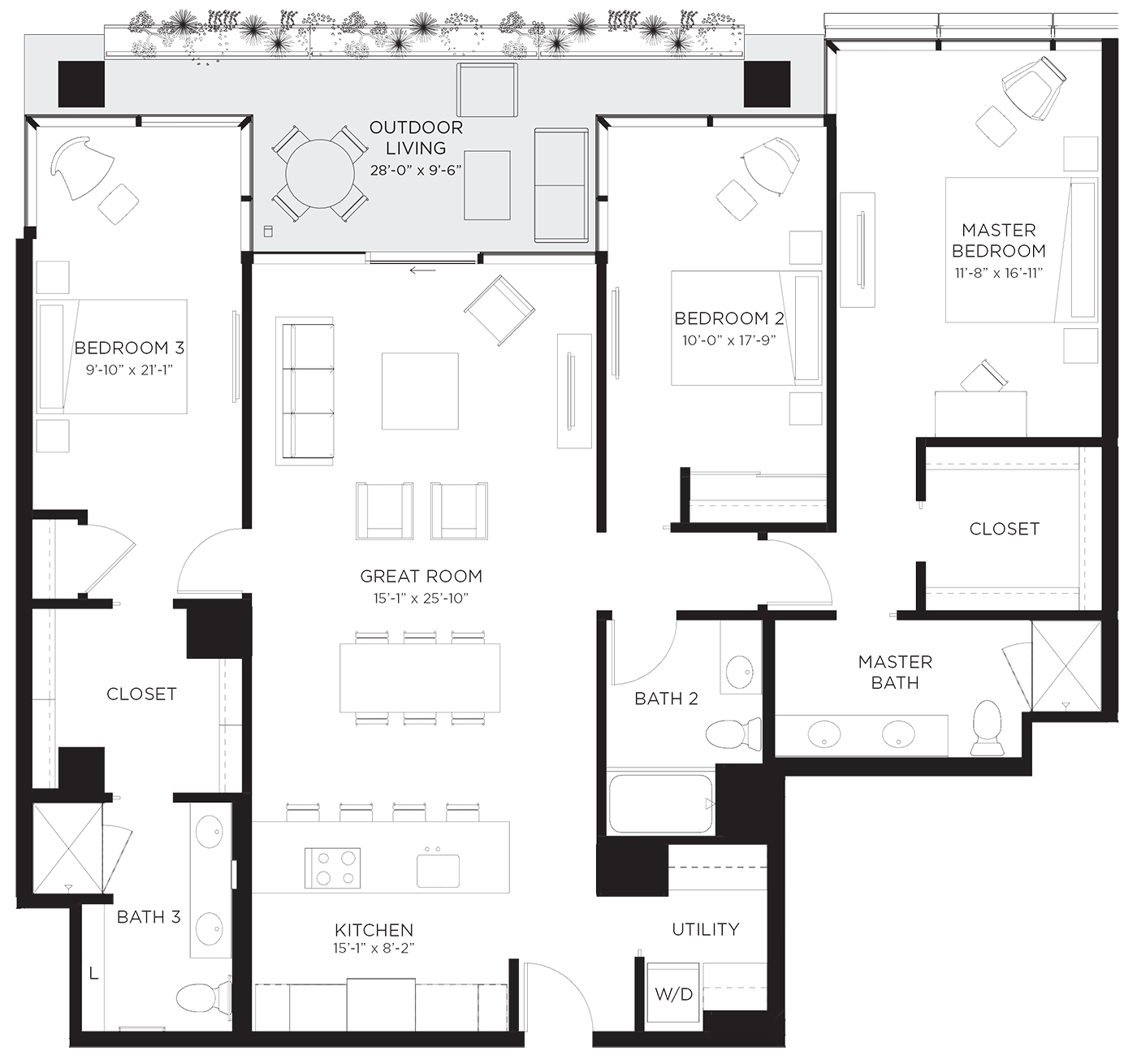 Unit 03Ha Floor Plan