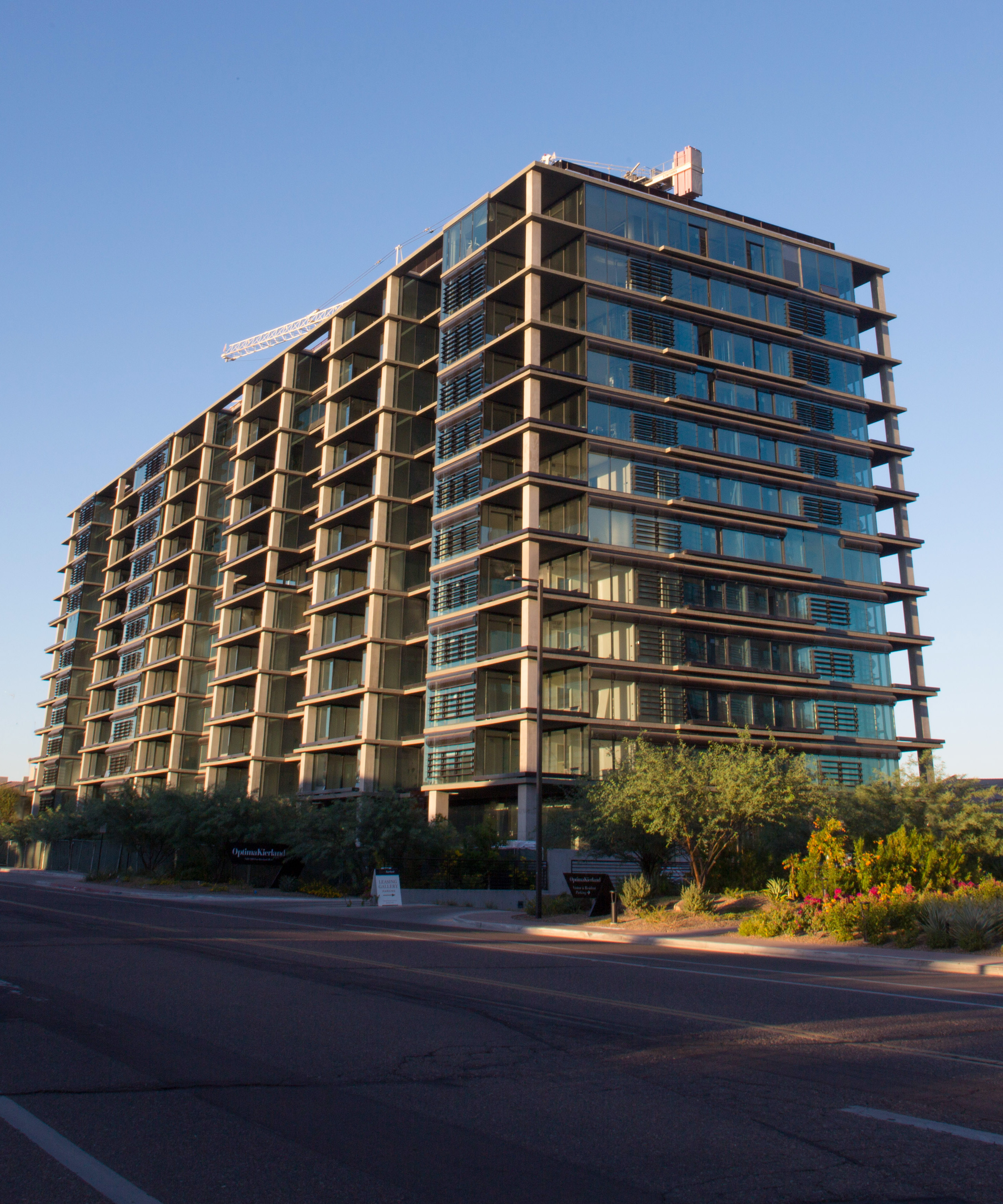 Scottsdale's Optima Kierland Luxury High-Rise Condominium Tower is More than 75 Percent Sold